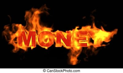 fire money word
