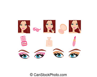 Make-up girl