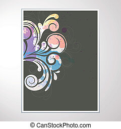 Abstract Vector Design - Vector illustration of colorful...