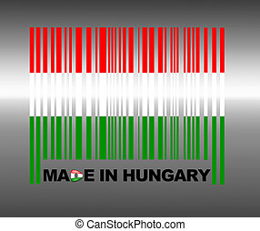 Made in Hungary - Barcode Hungary