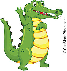 有趣, 鱷魚, 卡通