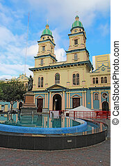 Church of San Francisco in Guayaquil, Ecuador - Statue of...