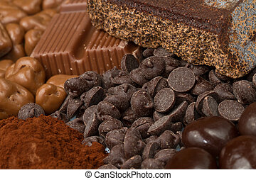chocolate - different kind of chocolate