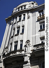 Art Deco Building Vienna - a art deco building in the city...