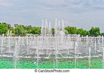 Big Fountain in Tsaritsino Park, Moscow