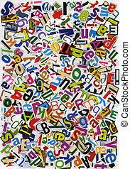 ABC collage