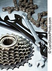 Bicikli, Megjavítás