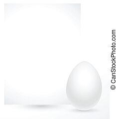 Easter Egg Banner Vector