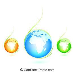 Green Earth concept