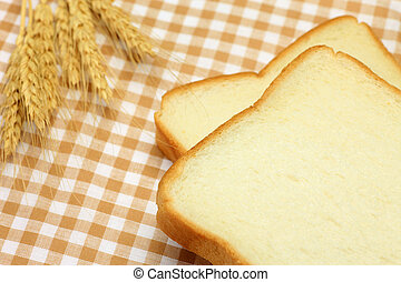 bread - I attached a wheat ear to bread and took it on a...