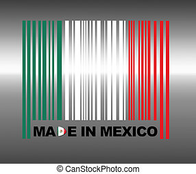 Made in Mexico - Barcode Mexico