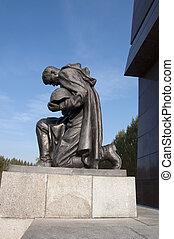 Soviet War Memorial in Treptower Park in Berlin - Huge...