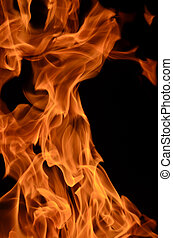 Fire is the main phase of the combustion process and has the...