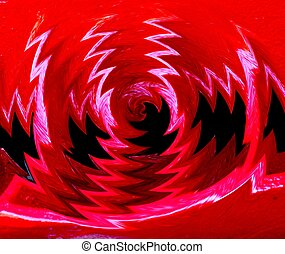 ABSTRACT BACKGROUND - An abstract red background featuring...