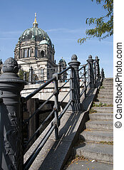 Berlin Cathedral Berliner Dom - View on Berlin Cathedral...