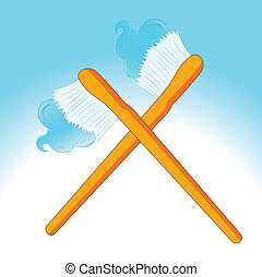 Cross Vector Toothbrush