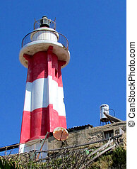 Jaffa Lighthouse 2012 - Lighthouse in the port area of old...