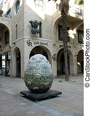 Jaffa Yerushalayim Ave 2009 - Modern Sculpture in...