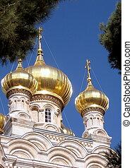 Jerusalem Church St. Maria Magdalena Domes 2008