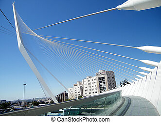 Jerusalem Calatrava Bridge 2010 - Calatrava Bridge in...