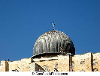 cúpula,  al-aqsa,  2008, jerusalén, mezquita