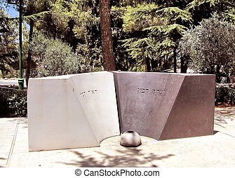 Jerusalem Mount Herzl grave of Leah and Yitzhak Rabin 2007 -...