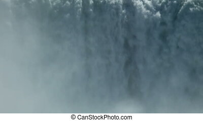 Body water closeup - Canadian horseshoe Niagara falls...