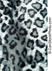 patterned, pele, fraude, Leopardo, textura