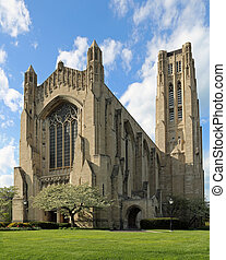 Rockefeller Memorial Chapel in Chicago, Illinois, USA