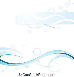 blue banner background for web template, backdrop, designs...