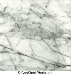 White Marble - White marble background with streaks of...