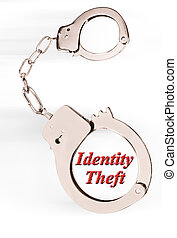 Identity Theft. - Handcuff and ID theft.