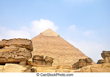 Pyramid Giza in Cairo Egypt