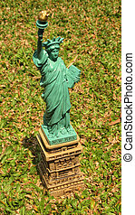 liberty - miniature of liberty statue...