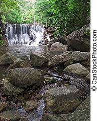 Huai Yang waterfall - First level of Huai Yang waterfall,...