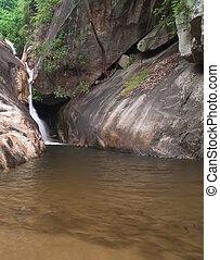Huai Yang waterfall - Level 5 of Huai Yang waterfall with a...