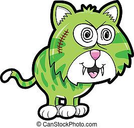 Wild Crazy Tiger Animal Vector