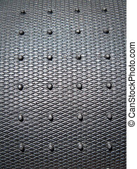 Rubber background - Black rubber plate background with...