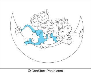 Kids on the Moon Shape
