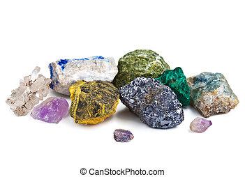 minerales, Colección, aislado