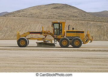Grader - Road grader at work