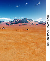 Desert - An image of a nice desert scenery