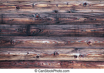 Old weathered wooden surface, full frame.