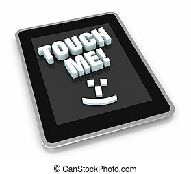 concept of touch technology