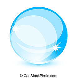 Abstract glass shapes - Vector smooth glass shapes design