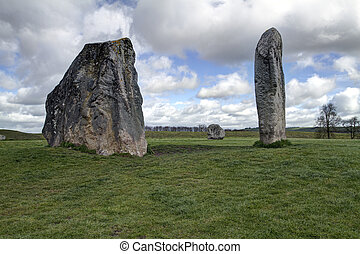 Neolithic henge monument - The Avebury ring is the oldest...