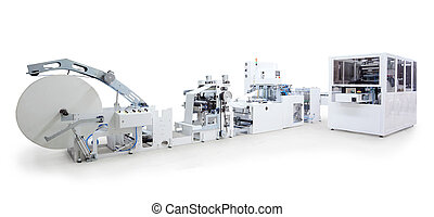 Printing and packaging machines - Parts and details of a...