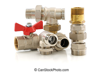 metal parts for plumbing and sanitary equipment - Various...