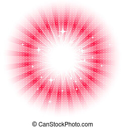 Vector isolated sun rays - Vector smooth glass shapes design