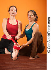 Hamstring Stretching Exercise